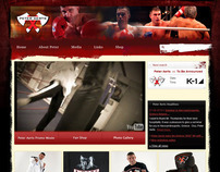 Peter Aerts website and webshop