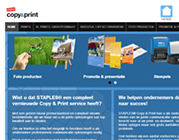 Staples Copy & Print Website