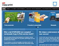 Staples Copy & Print Website