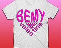 Be My Valentine T-shirt Design