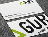 Corporátní identita marketingového studia GURU