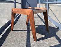 Bridge side table