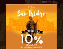 Bendita Extremadura San Isidro Newsletter campaign