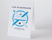 Zum Heimathafen - Business Cards