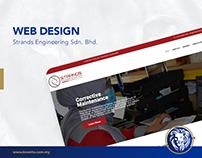 Web Design - Strands Engineering
