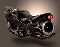 Hover Bike Concept Art