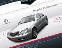 Website Vissers Wagens