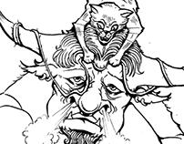 Fedele al Mito - illustrations