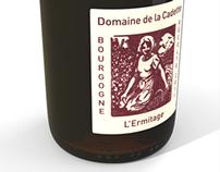 Wine bottles - 3D