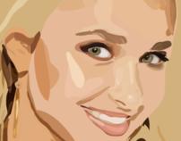Hayden Panettiere Vector Illustration