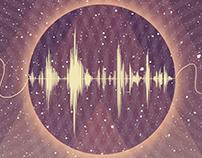 """""""MARS"""" Audionautas. Album cover design."""