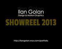 Ilan Golan | Motion Graphics Showreel 2013