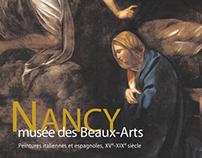 """Catalogue """"Nancy Musée des Beaux-Arts"""""""