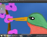 A bird .
