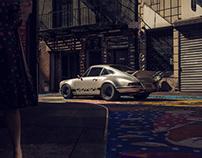 1970 PorscheRSR Hotrod.