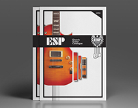 ESP guitar catalogue