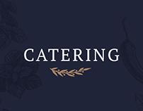 Catering web design