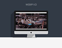 Webify.io - website design