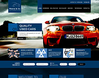 Automotive project website Elite version