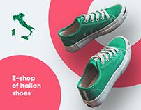 E-shop of Italian shoes