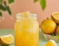 jugo de naranja / Panama