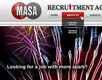 MASA Recruitment Agency Web Designs
