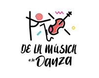 De la Música a la Danza - branding.