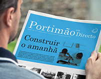 Portimão em Directo newspaper Re-design