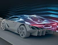 Lamborghini Centenario Roadster 2017 | Full CGI