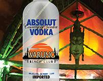 Absolut - Edição Warung