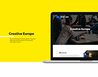 Creative Europe - website
