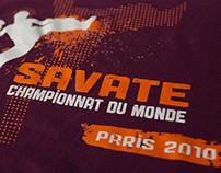 French boxing World Championship T-shirt