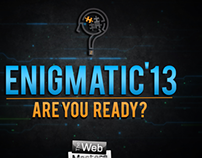 Enigmatic 2013 - Poster