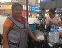 Doña Lupe sells tamales in NYC