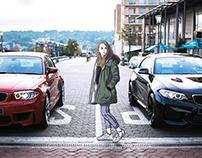BMW Concept Illustration collab