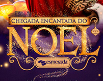 Chegada Encantada do Noel | Esmeralda Shopping