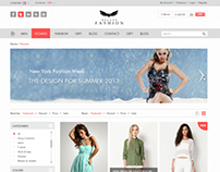 The New Fashion Shop - PSD