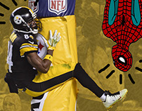 Spidey Meets The Steelers
