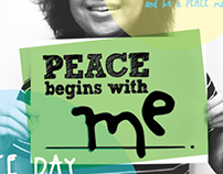 Peace Begins With Me - Behaviour Changing Campaign