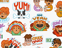 Ginger Fred - LINE App Social Messaging Stickers