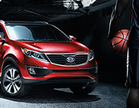 KIA Sports Program Ads