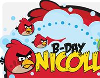 Angry Birds / Tema de Aniversário