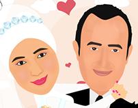 Amr & Samar Couple (Wedding Ceremony)