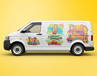 X-WING Promo Van Design