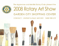 Meville Rotary Club - Art Show Posters