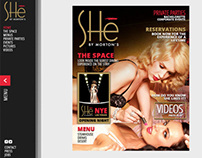 She Las Vegas Website Design