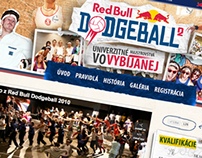 Red Bull Dodgeball | Visual identity