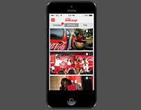 CokeSnap App Design - UI & UX