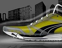 Running shoe - PUMA Internship project