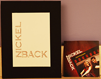 Nickleback Logo Redesign and CD Cover Design